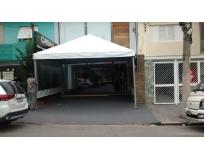 tendas para alugar serviços no M'Boi Mirim