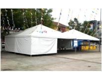tendas para alugar no Jaguaré