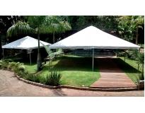 tendas para locação serviços na Vila Maria
