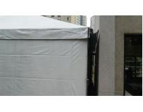 tendas piramidais com calha serviços no Imirim