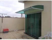 toldo de policarbonato para janelas em Suzano