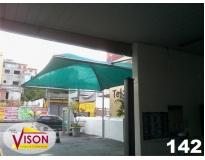 toldo para estacionamentos serviços em Carapicuíba