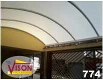 toldos de policarbonato para carros serviços na Arco-íris