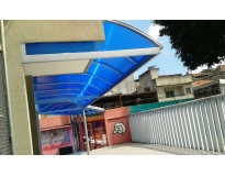 toldos de policarbonato para janelas serviços no Campo Grande